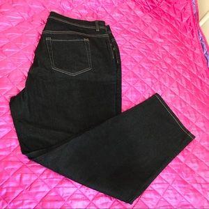 Gloria Vanderbilt dark wash jeans